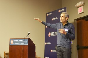 Lewis D'Vorkin of Forbes opens the Ole Miss New Media Conference