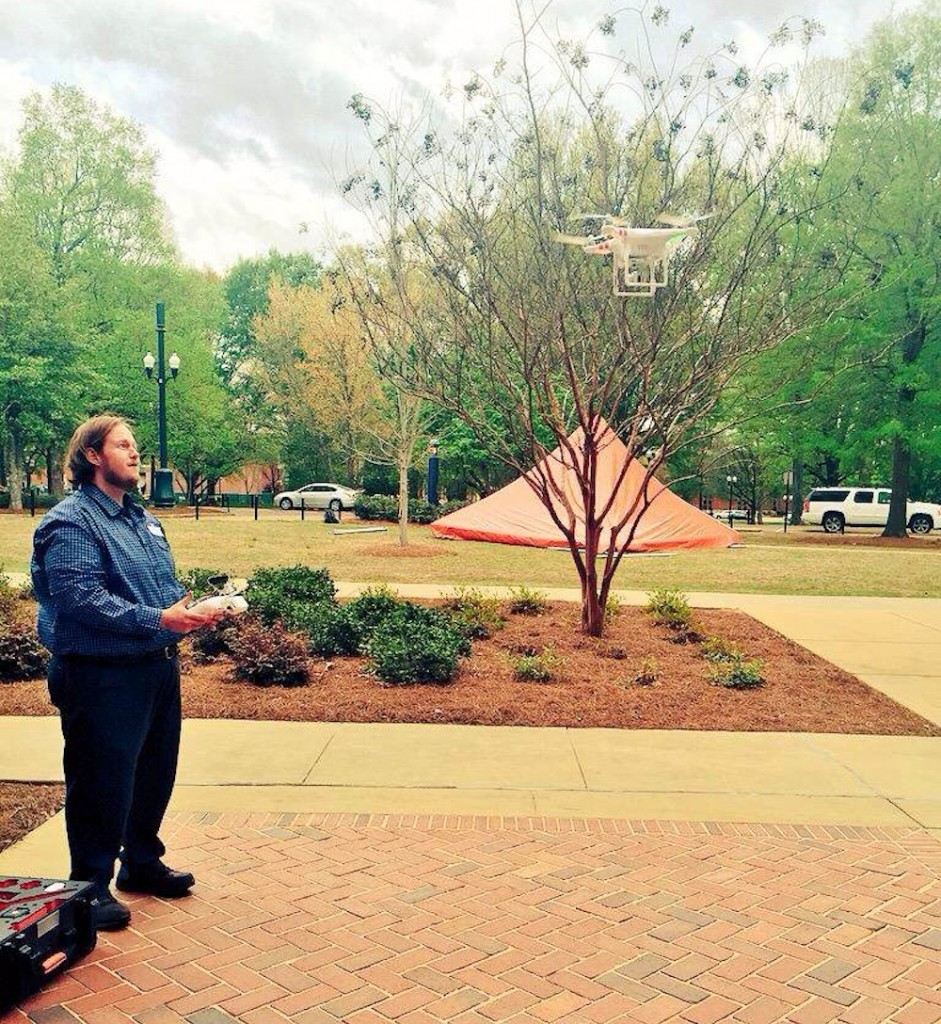 Morgan becoming 'drone commander' at Ole Miss