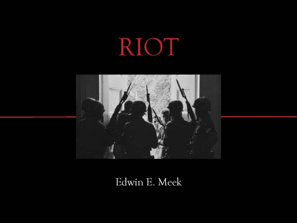 "Announcing the publication of ""RIOT: Witness to Anger and Change"""