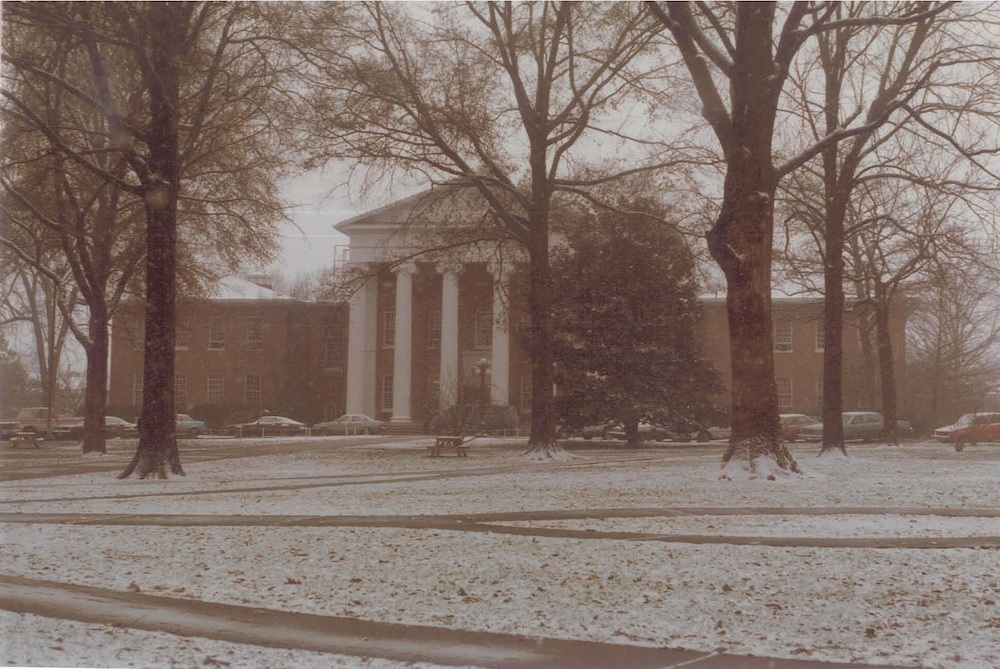 The Lyceum in December 1983 as I am about to depart from Oxford to Detroit for the Christmas break