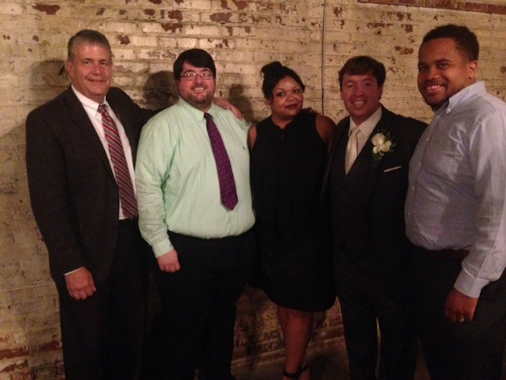 IMC Graduates.Ben Tucker's Wedding