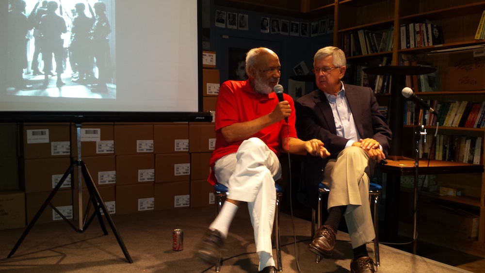 James Meredith and Edwin Meek at Lemuria Bookstore