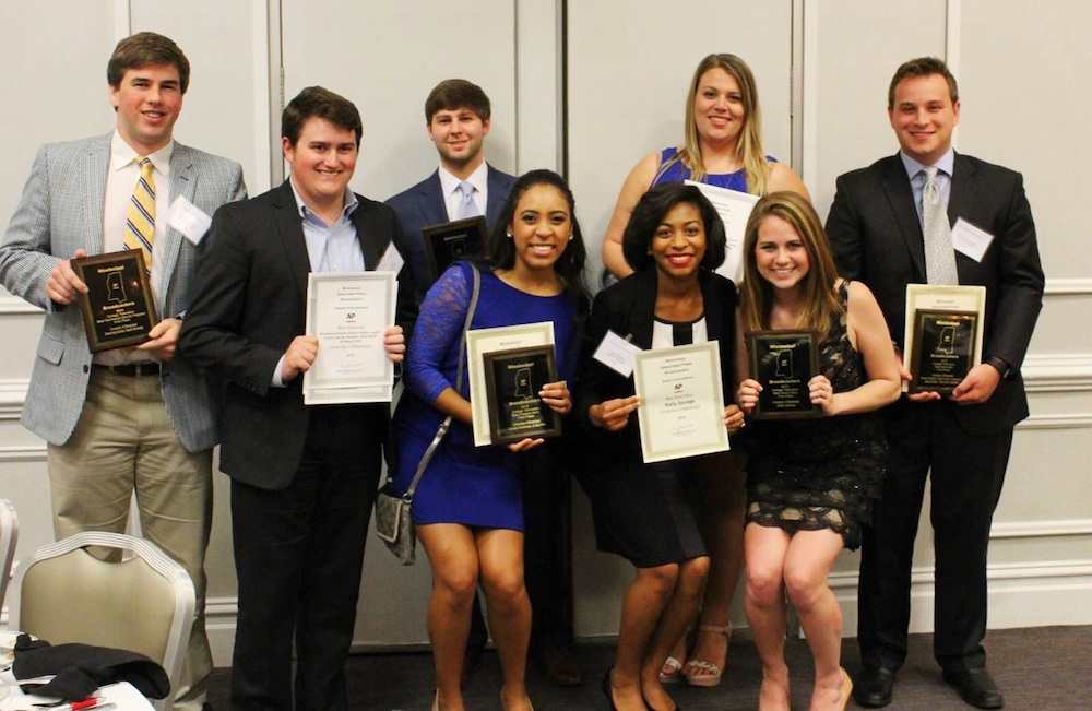 Ole Miss broadcast students dominate MAPB awards