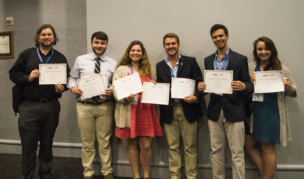 UM students, Daily Mississippian, NewsWatch recognized for excellence