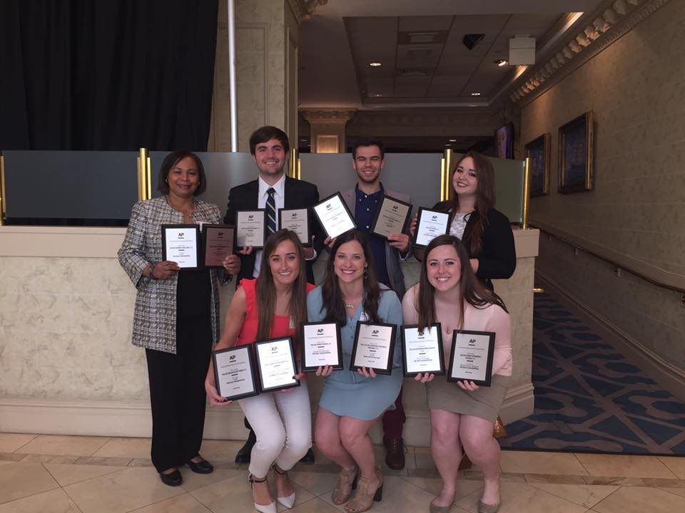 Meek School wins big at Louisiana-Mississippi Associated Press Competition