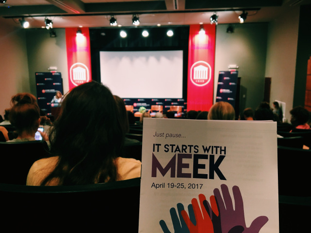 Opinion: What the 'It Starts With MEek' campaign taught me