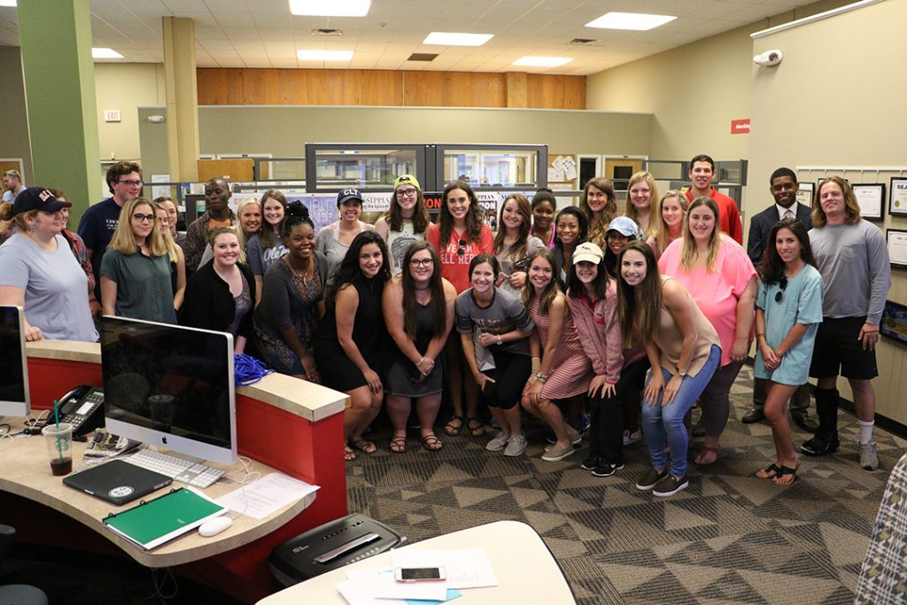 Student Media Center celebrates successful year of work