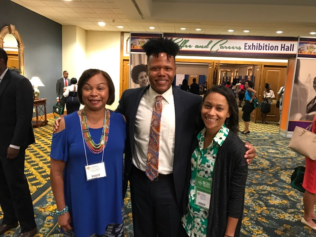 Meek students and faculty attend NABJ convention in New Orleans